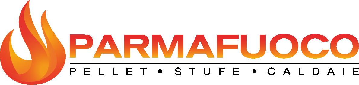 PARMAFUOCO – Pellet Stufe Camini Caldaie Impianti di riscaldamento a pellet Logo