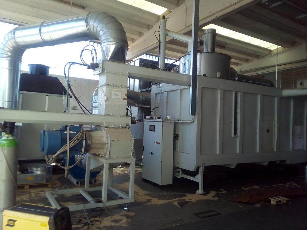 Impianto di a pellet schema impianto di a pellet org avec for Impianto produzione pellet usato